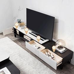 CHEERS芝华仕PT013意式简约钢化玻璃电视柜 1799元