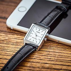 卡西欧手表女指针系列时尚简约优雅商务石英女士手表小方表 198元