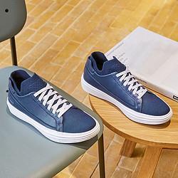斯凯奇小白鞋男鞋子舒适柔软一脚套时尚运动鞋男士休闲鞋男鞋子 310元