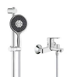 GROHE高仪26107000+23348000淋浴花洒套装 1298元