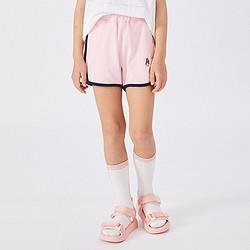 HushPuppies【会员价:39元】童装新款儿童三分裤女童夏季短裤运动短裤39元(包邮)