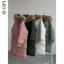 LRUD 棉衣女2020冬季年新款韩版加厚中长款宽松棉服棉袄外套ins潮107.94元