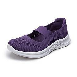 足力健奶奶鞋妈妈鞋老人鞋女鞋春秋新款单鞋女平底女单鞋女 99元