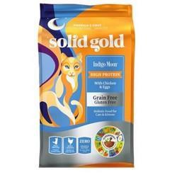 solidgold素力高无谷鸡肉猫粮12磅/5.4kg 265.08元