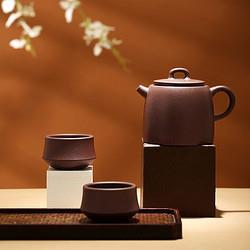 J.ZAO京东京造紫砂功夫茶具套装3件套