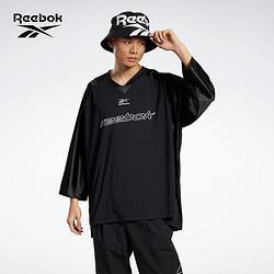 Reebok锐步设计师联名GK6900男士宽松长袖T恤