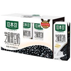 SOYMILK豆本豆芝麻黑豆奶250ml*12盒/箱