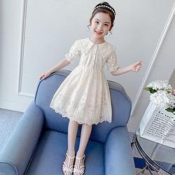 女童连衣裙2021新款夏装网红女孩童装蕾丝裙子夏季洋气儿童公主裙65元