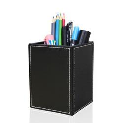 LEADLAND利蓝A220皮革笔筒黑色平纹 14.75元(需买13件,共191.7元)