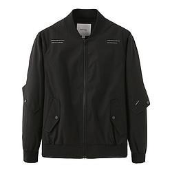 MARKFAIRWHALE马克华菲马克华菲新款男士外套潮流舒适百搭棒球领休闲男式夹克外套男上装198元