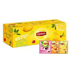 Lipton立顿环球水果茶缤纷装30包36.47元(需买5件,共182.33元)