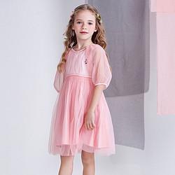 TEENIEWEENIE维尼熊小熊童装女童连衣裙洋气网纱公主裙儿童连衣裙249元