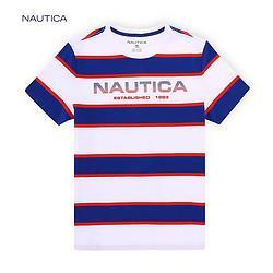 NAUTICA诺帝卡VC919140P男士棉质短袖T恤 119元(需用券)