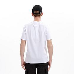 HIPANDA熊猫人Hipanda你好熊猫男式剪影印花短袖T恤黑白双色短T街头设计潮牌136.53