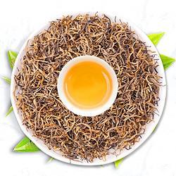 龙问号云南凤庆滇红茶2021年金丝功夫红茶春茶300克/盒138