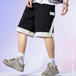 EPTISON衣品天成BMK028B男款宽松直筒休闲短裤 98.1