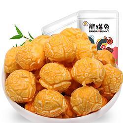 熊猫兔奶油味爆米花办公休闲零食膨化零食88g/袋 6.93