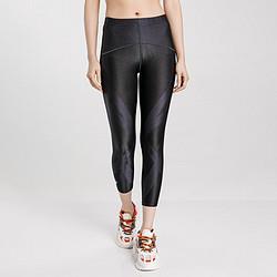 ASICS亚瑟士透气清爽女款弹力柔软休闲运动女式跑步紧身八分裤    122