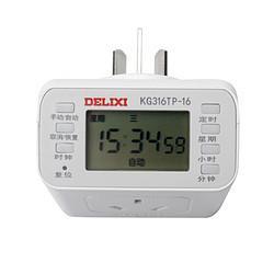 DELIXI德力西定时开关插座16A 71.5元(需买4件,共286元)