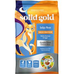 solidgold素力高Indigomoon系列鸡肉蛋粉全阶段猫粮12磅    265