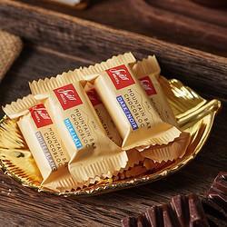SwissDelice狄妮诗狄妮诗SwissDelice迷你小山峰混合口味巧克力600g    55.3
