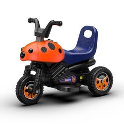 luddy乐的乐的儿童电动三轮摩托车8020橙色甲壳虫-升级版198元(需用券)