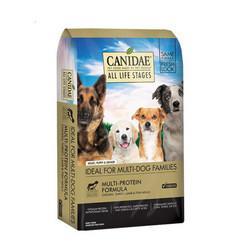 CANIDAE卡比4种肉配方全犬粮44磅 279元包邮(需用券)