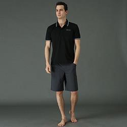 Marmot土拨鼠土拨鼠柔软舒适短袖男式户外休闲短袖POLO衫 177元