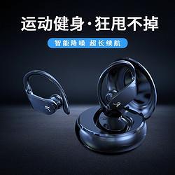 挂耳式双耳半入耳式运动耳机 68元(需用券)