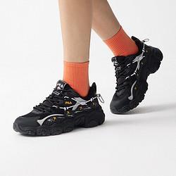 FILA斐乐PepeShimada联名款女鞋时尚百搭猫爪鞋女老爹鞋 628元