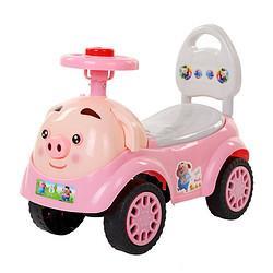 VAKADA儿童扭扭车1-3岁宝宝滑行车小猪粉+音乐灯光+礼包+伸缩脚踏55元(需用券)
