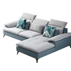ZUOYOU左右家私5039布艺沙发组合转二件正向 4299元(包邮,双重优惠)