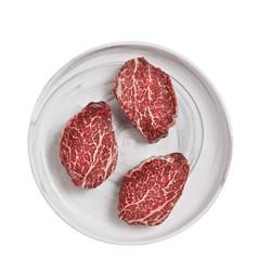 牛大牛二和牛原切M5牛柳500g4-5片242元(需用券)