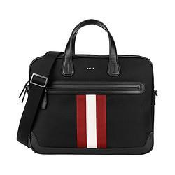 BALLY巴利男士黑色尼龙红白条纹商务包CHANDOSSMTSP1062204612199元(需用券)