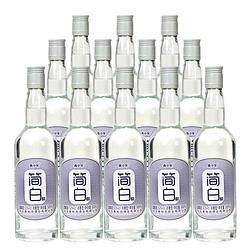 青小乐简白浓香型白酒52度500ml*6瓶*2箱118元(需用券)