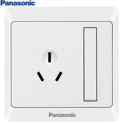 Panasonic松下WMWA608-N86型墙面开关16A3孔 12.85元