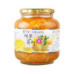 全南韩国原装蜂蜜柠檬柚子茶1kg水果茶果酱冲饮麦片花蜜46.9元