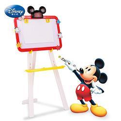 Disney迪士尼迪士尼双面大画板绘画套装儿童玩具男孩女孩黑白板磁性写字板绘画工具文具粉笔画架夹米奇生日六一儿童节礼物34.5元(需买2件,共69元)