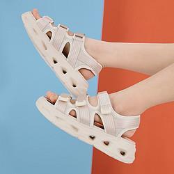 Teenmix天美意凉鞋女夏商场同款时尚休闲魔术贴凉鞋女288元