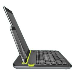 logitech罗技K480蓝牙无线薄膜键盘深沉黑无光139元