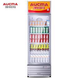 AUCMA澳柯玛澳柯玛(AUCMA)327升立式单门家用商用展示柜冷藏饮料茶叶保鲜柜啤酒冷饮玻璃门冰柜SC-327NE1394.02元(需买2件,共2788.04元)