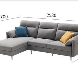 18日0点:ZUOYOU左右家私DZY5081布艺沙发组合转二件正向 4059元包邮