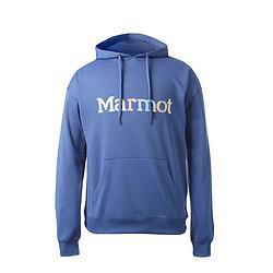 Marmot土拨鼠土拨鼠柔软舒适炫彩大LOGO男士套头连帽户外运动卫衣 269元