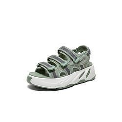 Tata他她Tata/他她夏专柜同款布面休闲沙滩罗马鞋厚底运动女凉鞋199元
