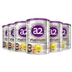 a2艾尔a2奶粉澳洲Platinum白金版婴儿奶粉900g新西兰原装3段1-3岁6罐保税仓 874元包邮