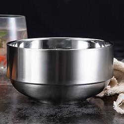 SFYP尚菲优品尚菲优品(SFYP)304不锈钢碗13cm双层加厚隔热汤碗饭碗耐摔耐用GD13-19.9元