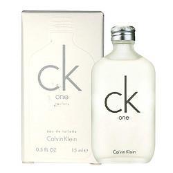 CalvinKlein卡尔文・克莱卡尔文克莱恩(CalvinKlein)ckONEBE香水男士女士通用中性淡香水100mlckone新款有盒15ml 73元