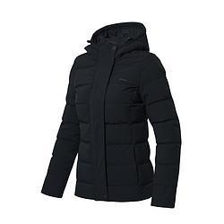 LI-NING李宁训练系列女款运动羽绒服AYMN046保暖修身羽绒服177元