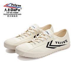 DaFuFeiyue大孚飞跃dafufeiyue)鞋软底复古原宿风鞋子米黑DF1-79644标准码88元