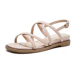 hotwind热风夏季新款女士休闲凉鞋 77元